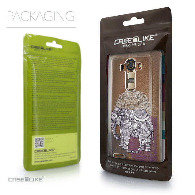 Packaging - CASEiLIKE LG G4 back cover Mandala Art 2301