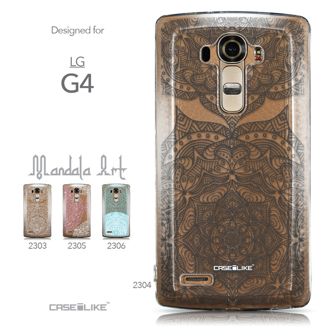 Collection - CASEiLIKE LG G4 back cover Mandala Art 2304
