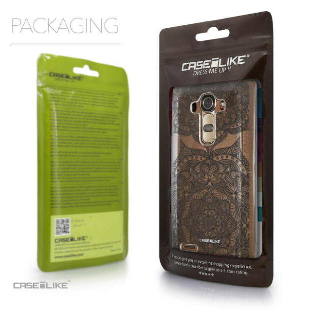 Packaging - CASEiLIKE LG G4 back cover Mandala Art 2304
