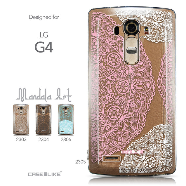 Collection - CASEiLIKE LG G4 back cover Mandala Art 2305