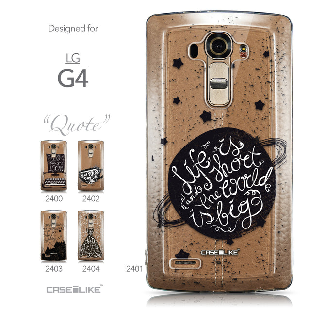 Collection - CASEiLIKE LG G4 back cover Quote 2401