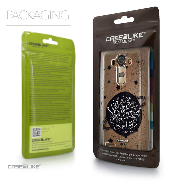 Packaging - CASEiLIKE LG G4 back cover Quote 2401
