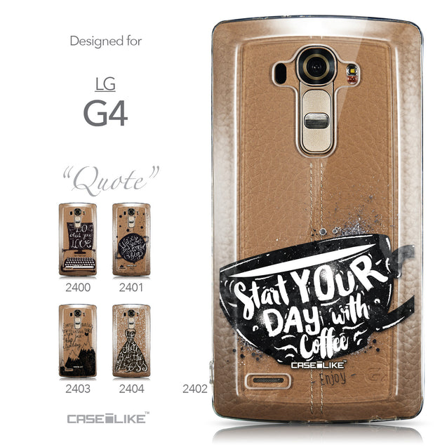 Collection - CASEiLIKE LG G4 back cover Quote 2402