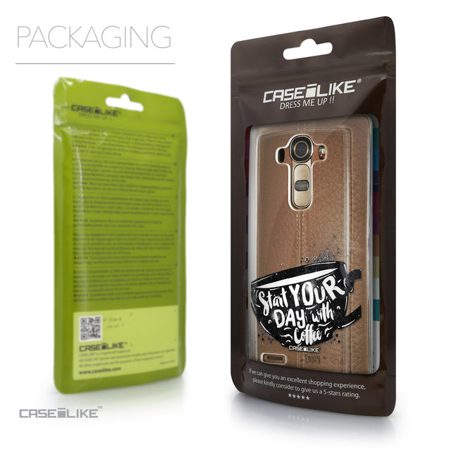 Packaging - CASEiLIKE LG G4 back cover Quote 2402