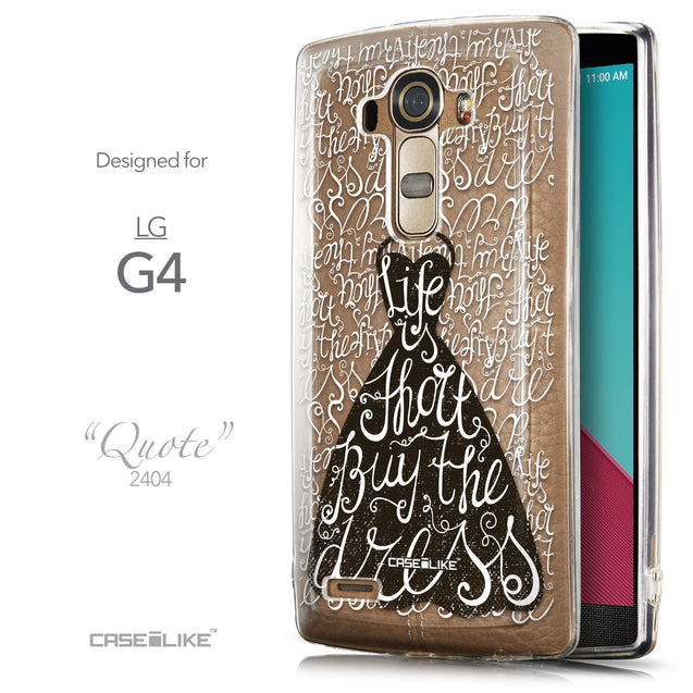Front & Side View - CASEiLIKE LG G4 back cover Indian Tribal Theme Pattern 2053