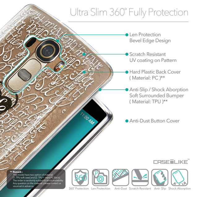 Details in English - CASEiLIKE LG G4 back cover Indian Tribal Theme Pattern 2053