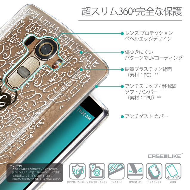 Details in Japanese - CASEiLIKE LG G4 back cover Indian Tribal Theme Pattern 2053