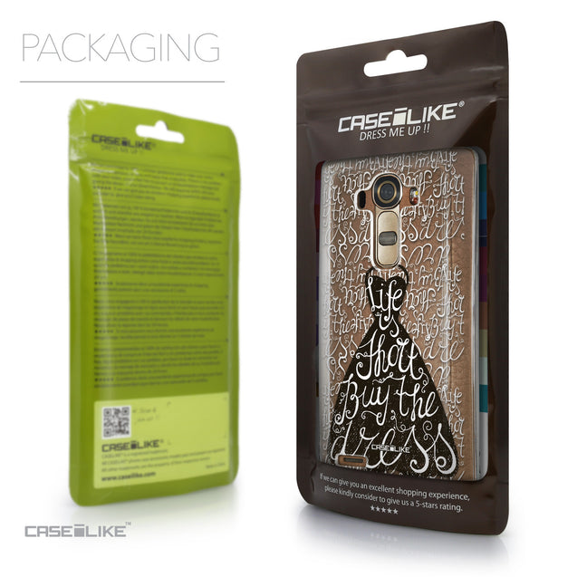 Packaging - CASEiLIKE LG G4 back cover Indian Tribal Theme Pattern 2053