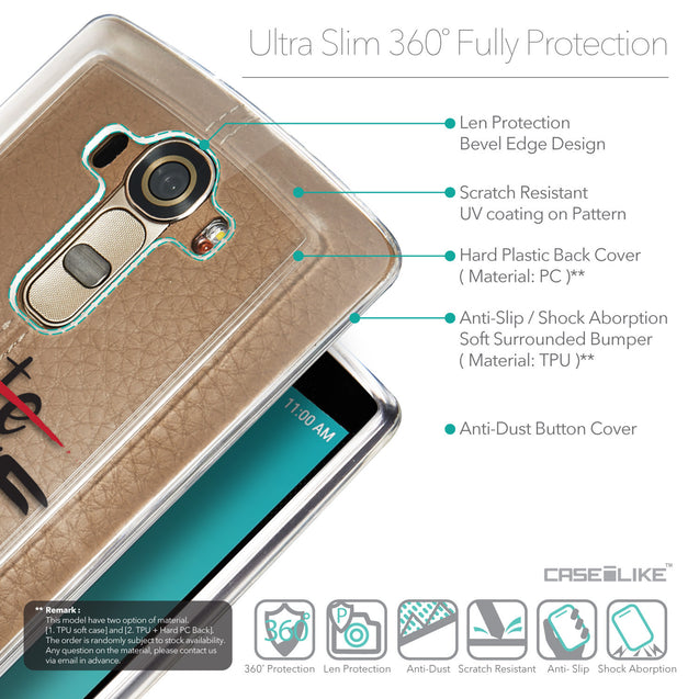 Details in English - CASEiLIKE LG G4 back cover Quote 2406