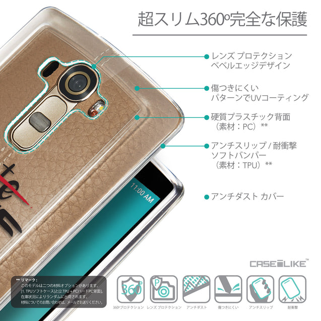 Details in Japanese - CASEiLIKE LG G4 back cover Quote 2406