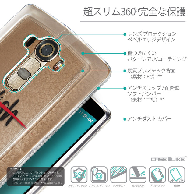 Details in Japanese - CASEiLIKE LG G4 back cover Quote 2407