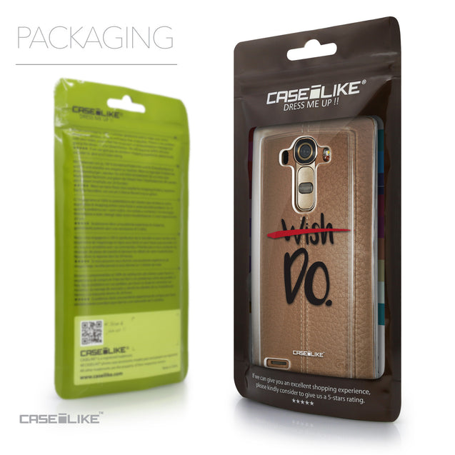 Packaging - CASEiLIKE LG G4 back cover Quote 2407
