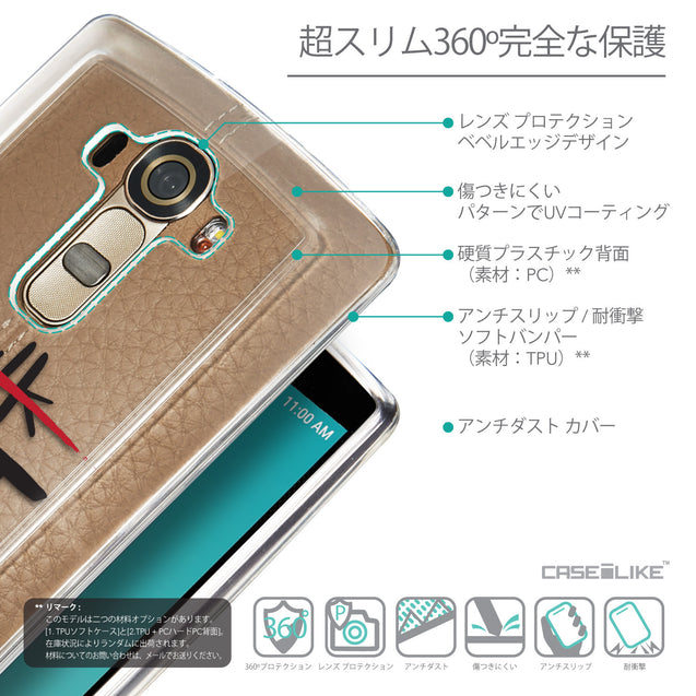 Details in Japanese - CASEiLIKE LG G4 back cover Quote 2408