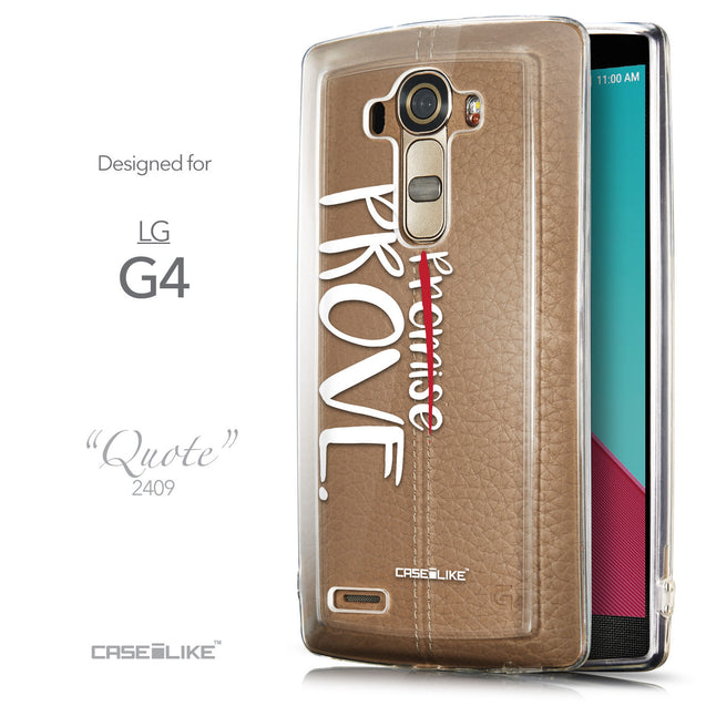 Front & Side View - CASEiLIKE LG G4 back cover Quote 2409