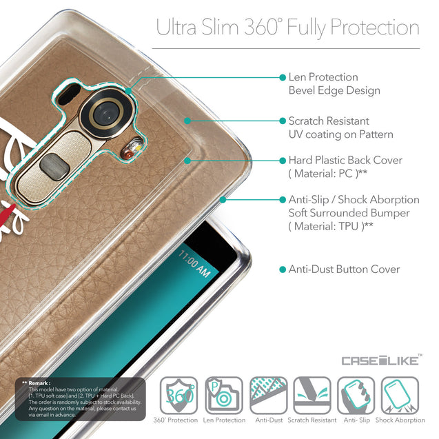 Details in English - CASEiLIKE LG G4 back cover Quote 2409