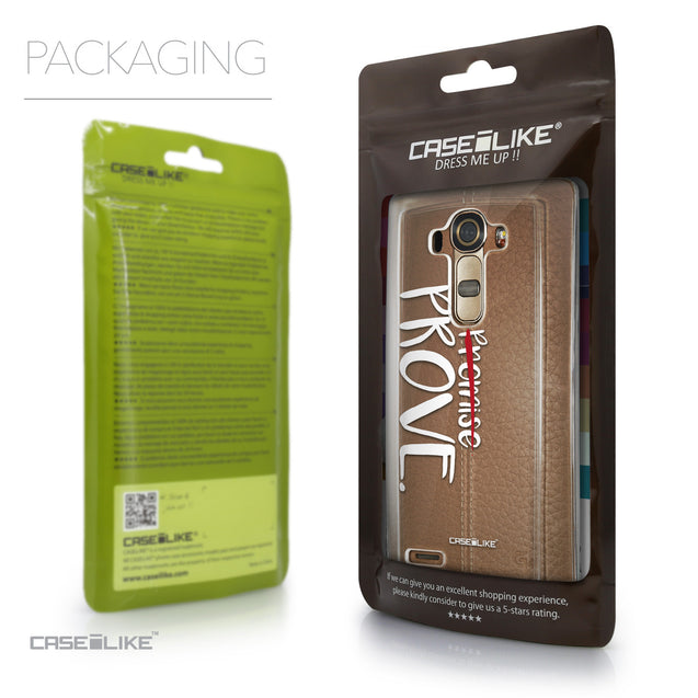 Packaging - CASEiLIKE LG G4 back cover Quote 2409