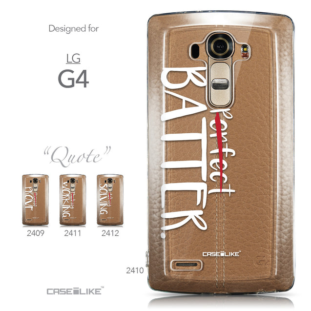 Collection - CASEiLIKE LG G4 back cover Quote 2410