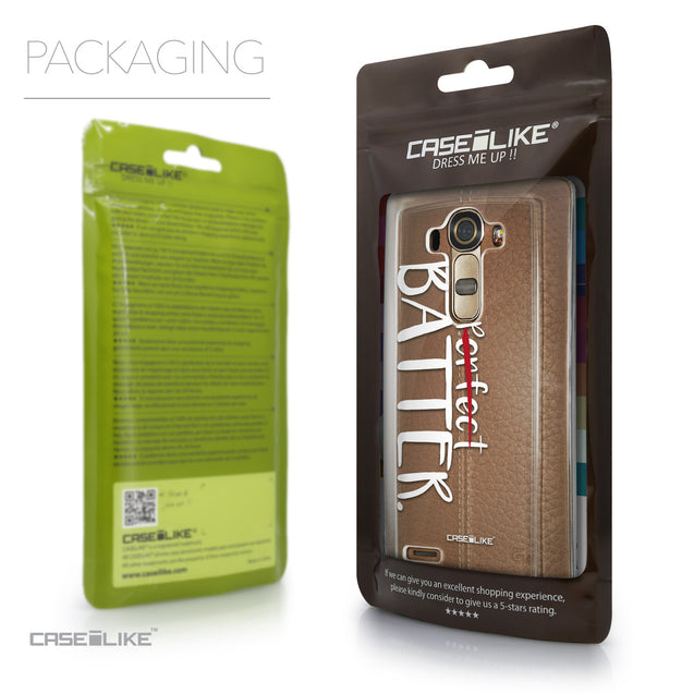 Packaging - CASEiLIKE LG G4 back cover Quote 2410