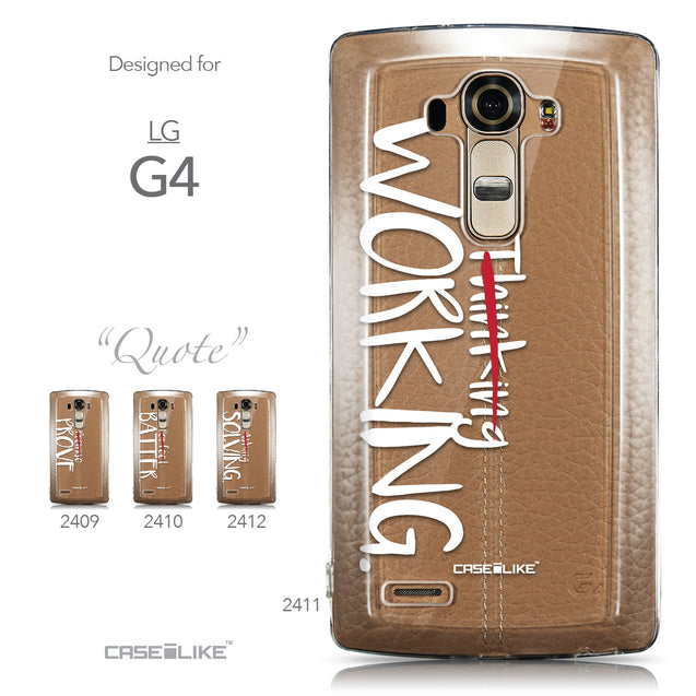 Collection - CASEiLIKE LG G4 back cover Quote 2411
