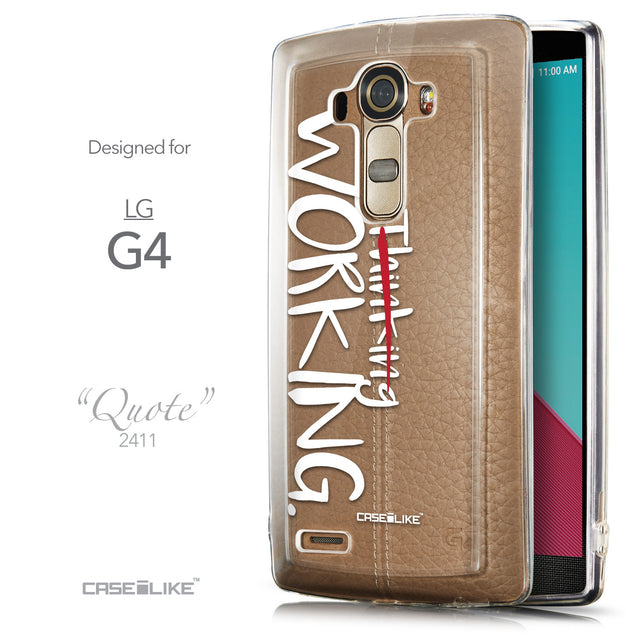 Front & Side View - CASEiLIKE LG G4 back cover Quote 2411