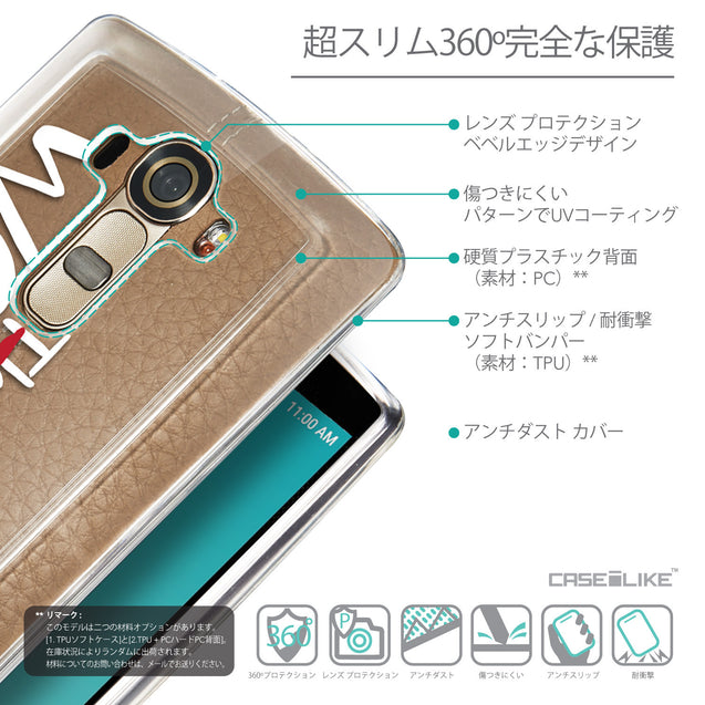 Details in Japanese - CASEiLIKE LG G4 back cover Quote 2411