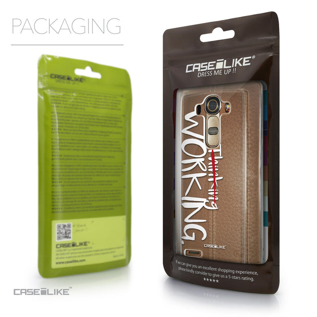 Packaging - CASEiLIKE LG G4 back cover Quote 2411