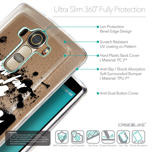 Details in English - CASEiLIKE LG G4 back cover Quote 2413