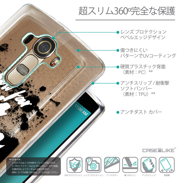 Details in Japanese - CASEiLIKE LG G4 back cover Quote 2413