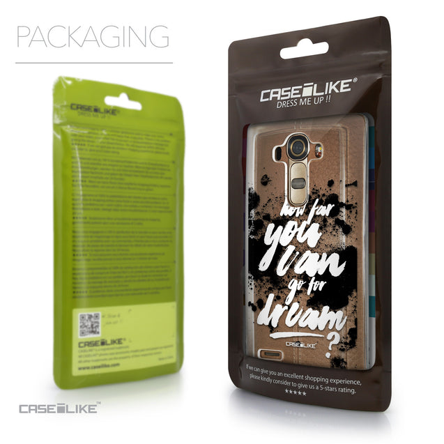 Packaging - CASEiLIKE LG G4 back cover Quote 2413