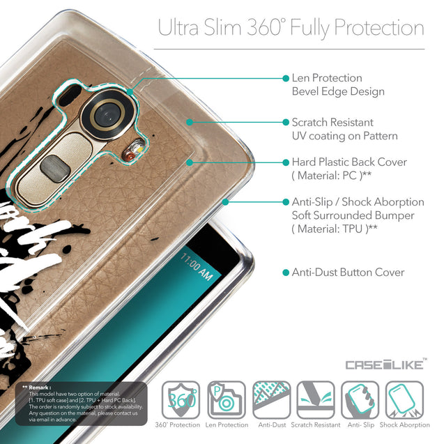 Details in English - CASEiLIKE LG G4 back cover Quote 2414