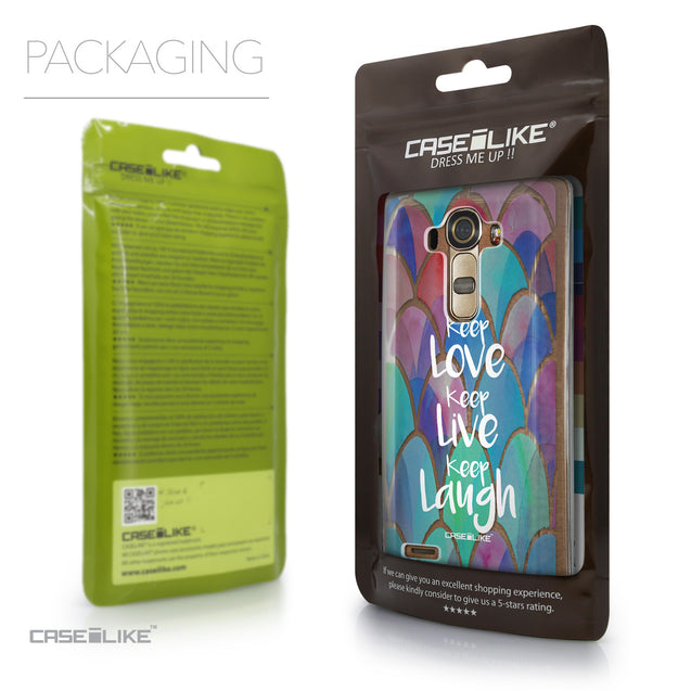 Packaging - CASEiLIKE LG G4 back cover Quote 2417