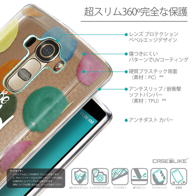 Details in Japanese - CASEiLIKE LG G4 back cover Quote 2420