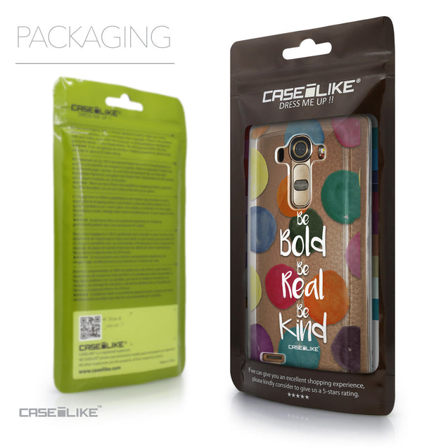 Packaging - CASEiLIKE LG G4 back cover Quote 2420