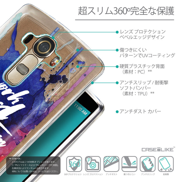 Details in Japanese - CASEiLIKE LG G4 back cover Quote 2422