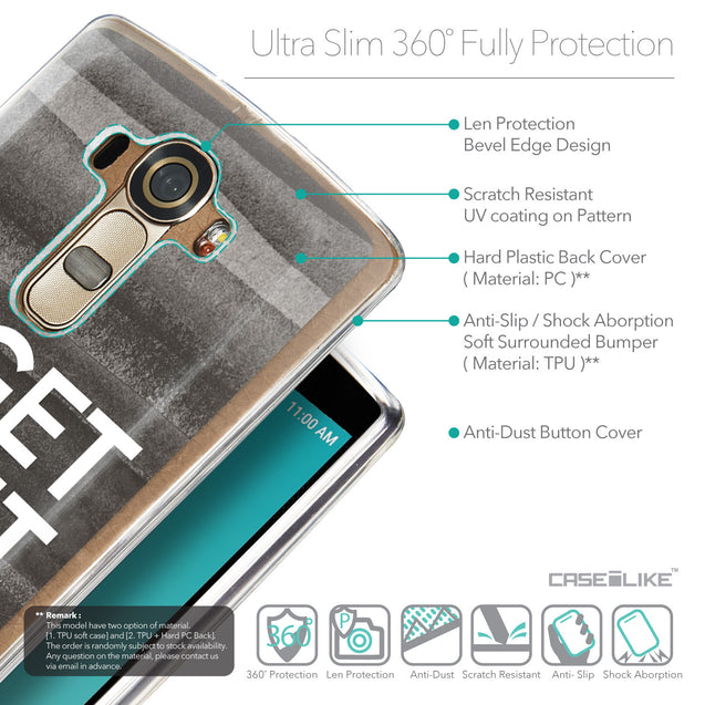 Details in English - CASEiLIKE LG G4 back cover Quote 2429