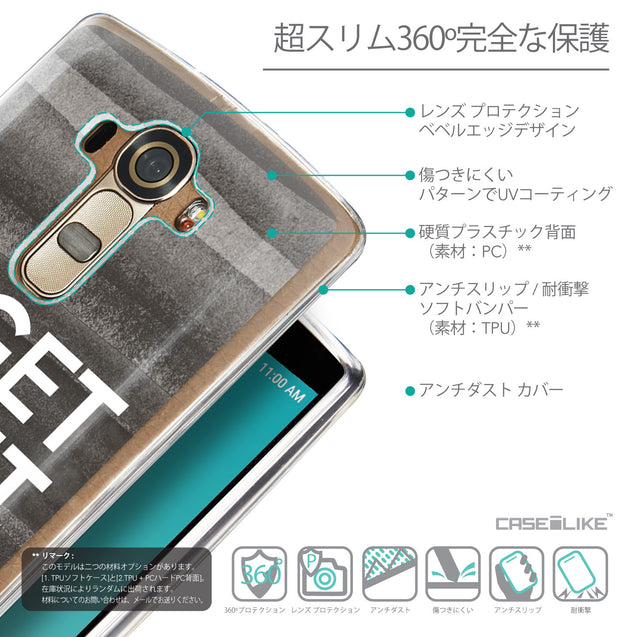Details in Japanese - CASEiLIKE LG G4 back cover Quote 2429
