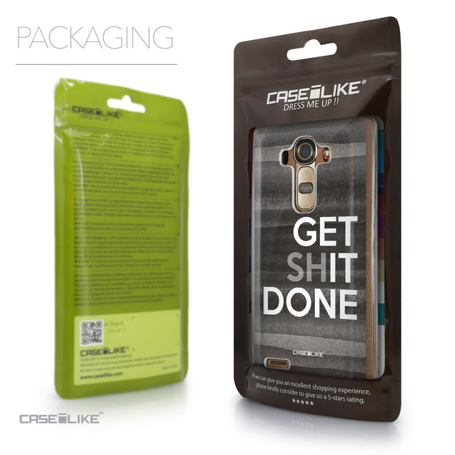 Packaging - CASEiLIKE LG G4 back cover Quote 2429