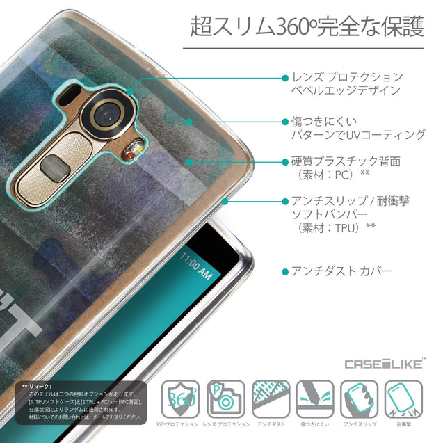 Details in Japanese - CASEiLIKE LG G4 back cover Quote 2431