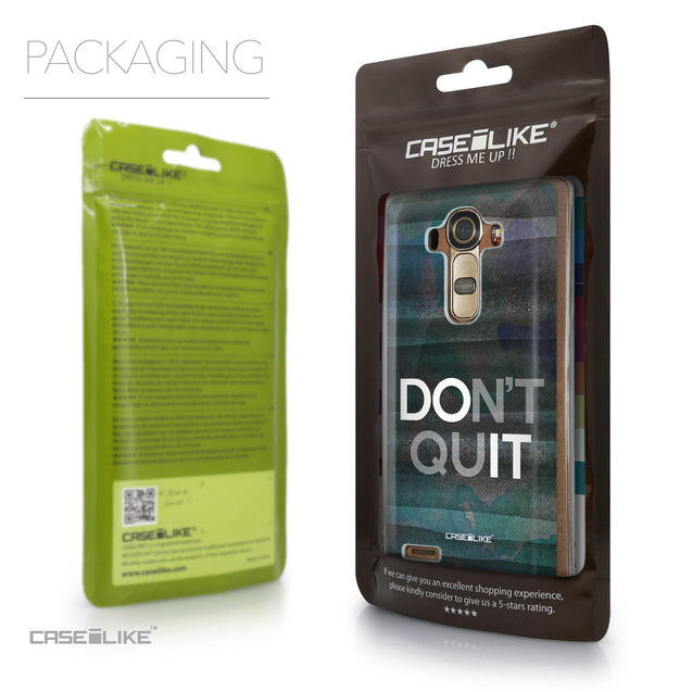Packaging - CASEiLIKE LG G4 back cover Quote 2431