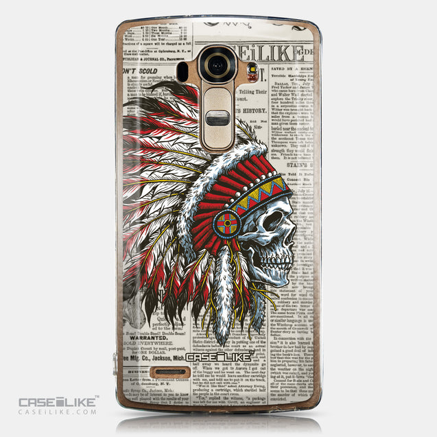 CASEiLIKE LG G4 back cover Art of Skull 2522