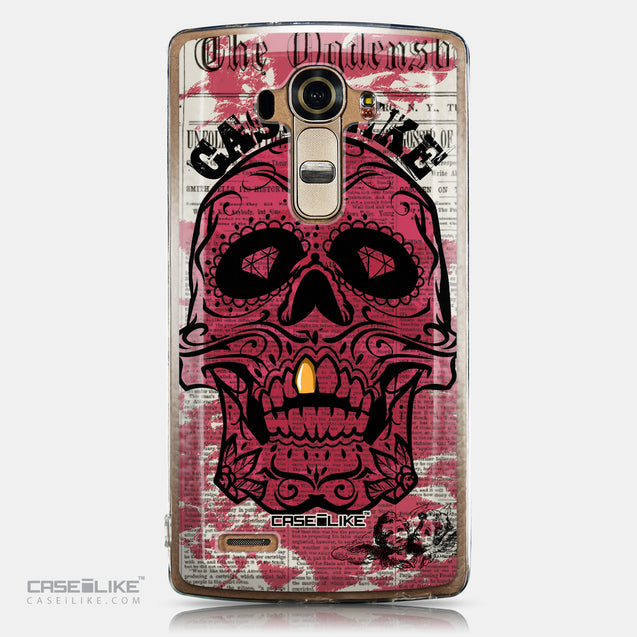 CASEiLIKE LG G4 back cover Art of Skull 2523