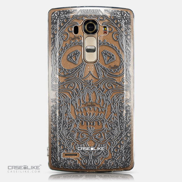 CASEiLIKE LG G4 back cover Art of Skull 2524