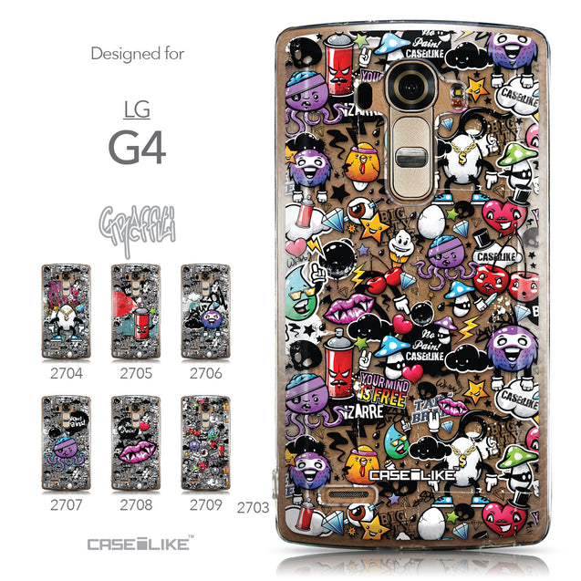Collection - CASEiLIKE LG G4 back cover Graffiti 2703
