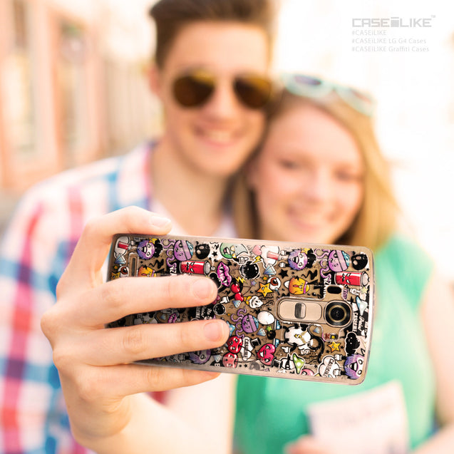 Share - CASEiLIKE LG G4 back cover Graffiti 2703