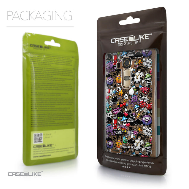 Packaging - CASEiLIKE LG G4 back cover Graffiti 2703