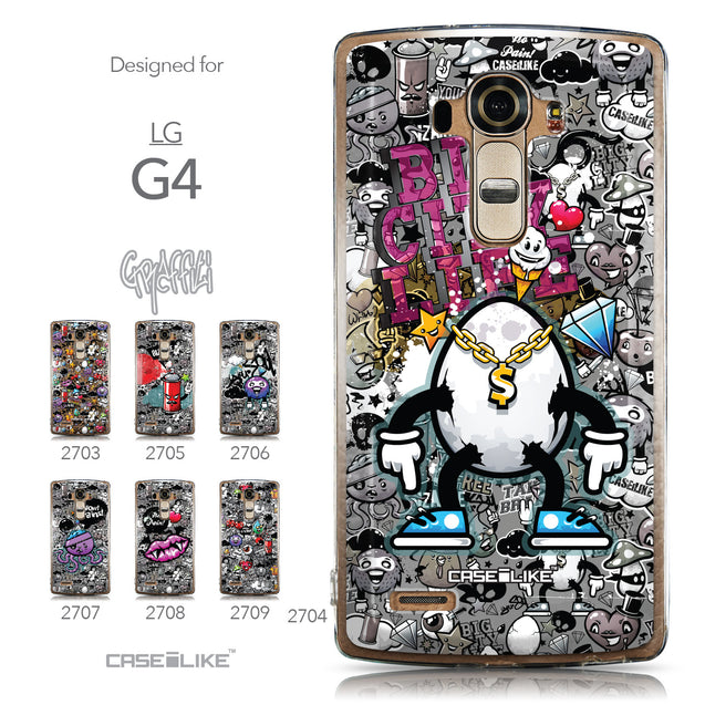 Collection - CASEiLIKE LG G4 back cover Graffiti 2704