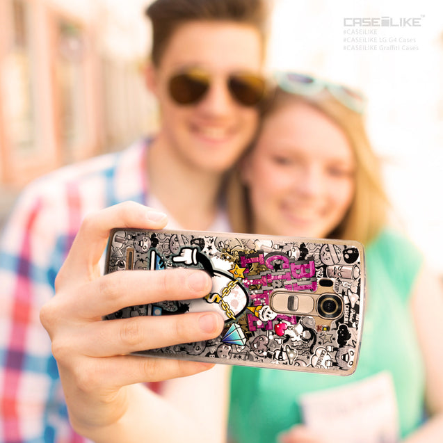 Share - CASEiLIKE LG G4 back cover Graffiti 2704