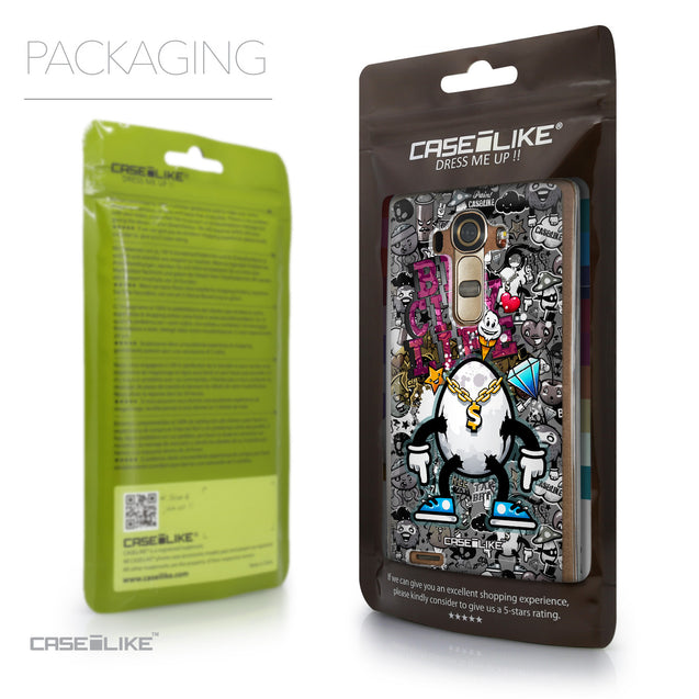 Packaging - CASEiLIKE LG G4 back cover Graffiti 2704