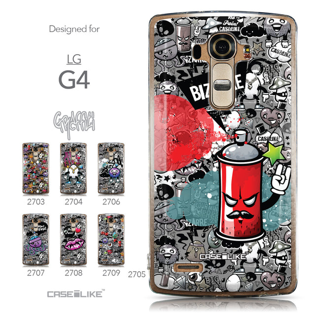 Collection - CASEiLIKE LG G4 back cover Graffiti 2705