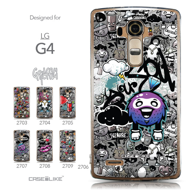 Collection - CASEiLIKE LG G4 back cover Graffiti 2706